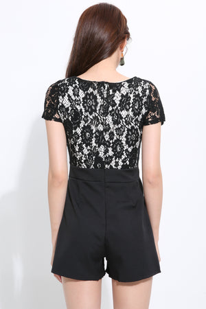 Lace Playsuit 1518