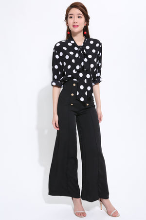 Polka Dot Top 1487