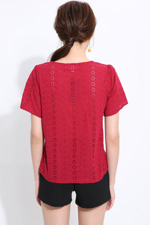 Lace Top 1506 - Ample Couture