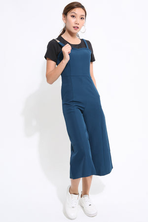 Back Zip Warm Jumpsuit 1632 - ample-couture