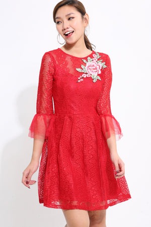 Lace Dress 1585 - Ample Couture