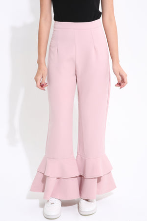 Back Zip Long Pant 1629 - ample-couture