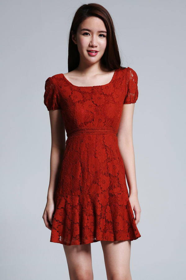 Lace Dress 1683 - Ample Couture