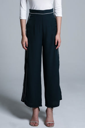 Stripe Long Pant 1706 - ample-couture