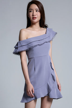 Off Shoulder Dress 1701 - Ample Couture