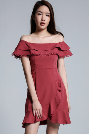 Off Shoulder Dress 1701