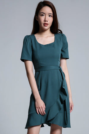Ruffle Dress 1699 - Ample Couture