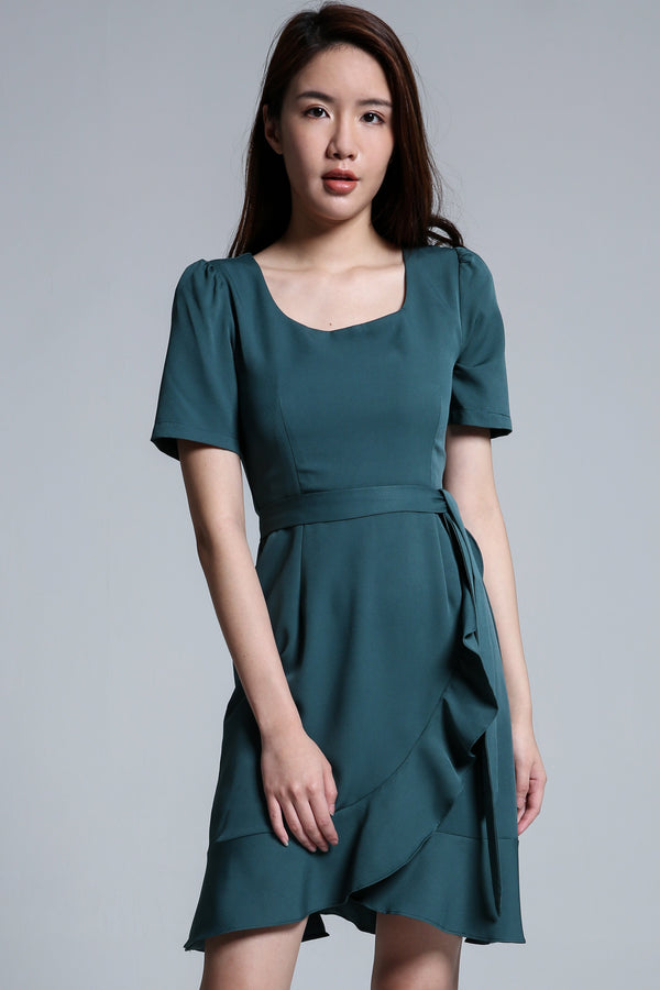 Ruffle Dress 1699 - ample-couture
