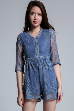 Lace Playsuit 1690