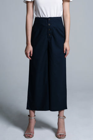 Button Long Pant 1720 - Ample Couture