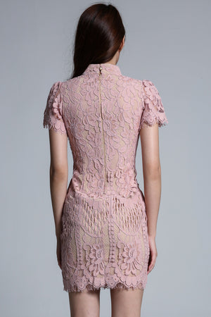 Cheongsam Lace Dress 1734