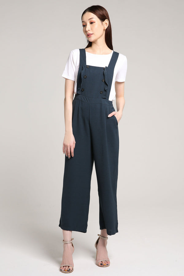 Button Jumpsuit with Top Set 2025