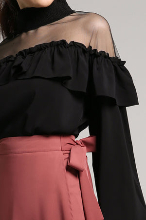 Wrap Sash Skirt 2066 - ample-couture