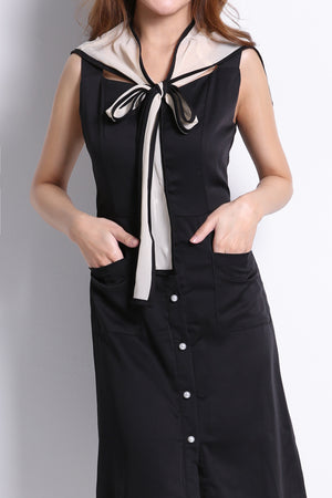Front Button Dress 10012A