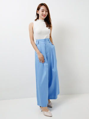 Wide Leg Long Pants 11586