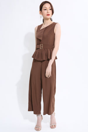 Pleated Jumpsuit 1375 - ample-couture