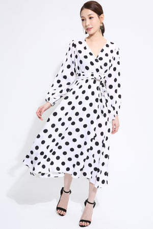 Polka Dot Dress 1420 - ample-couture