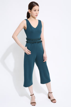 V-Neck Jumpsuit 1442 - ample-couture