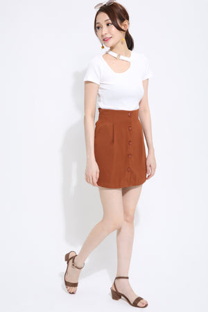 Button Skirt Pant 1426