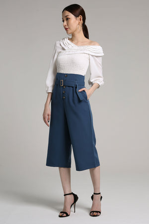 Button Culottes 2175 - ample-couture