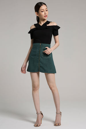 Zip Skirt with Pockets 2124