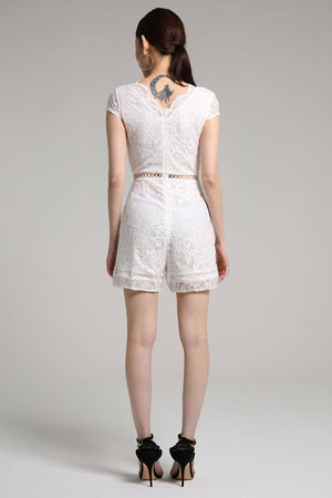 Lucy Lace Romper 2174