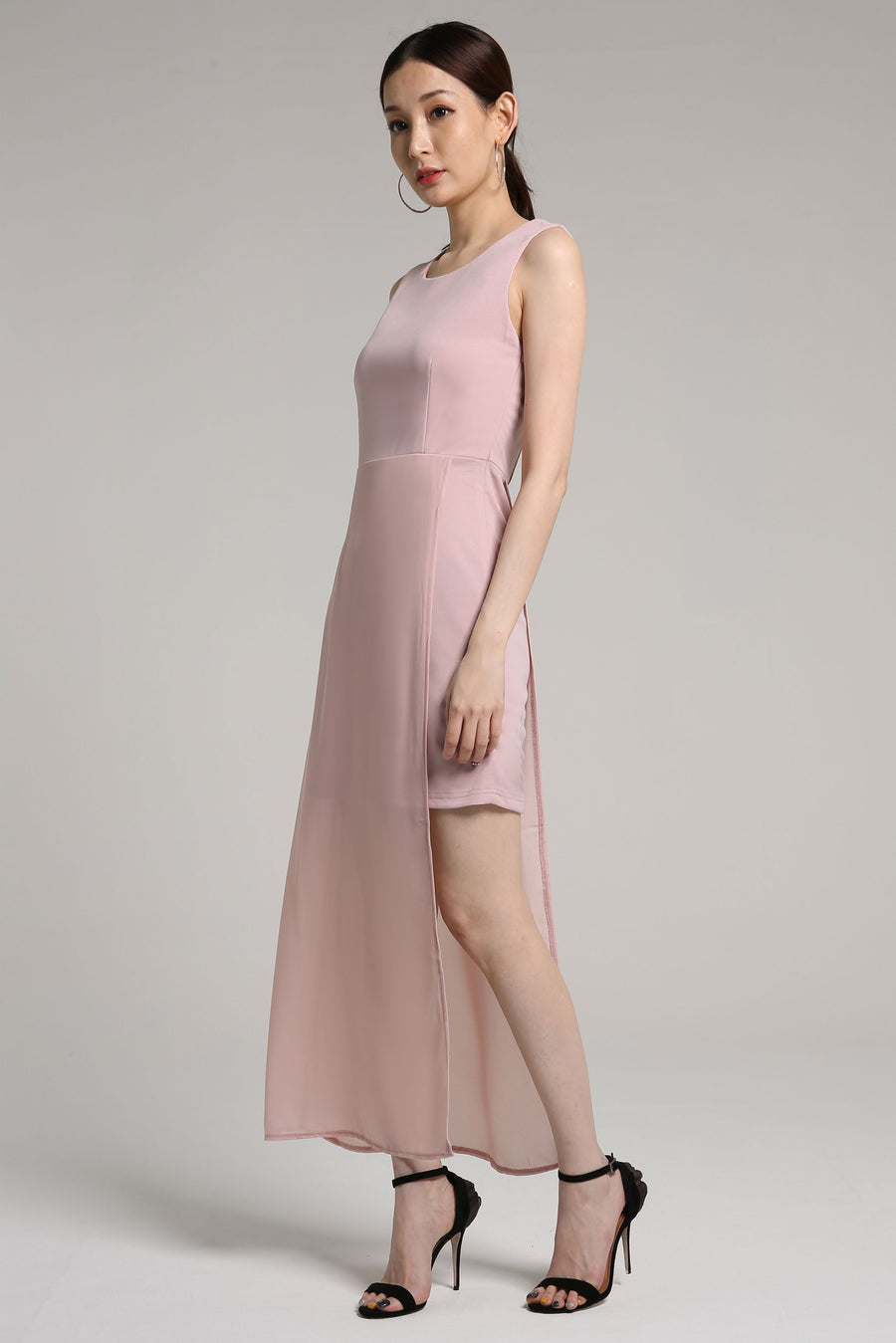 Singlet Chiffon Dress 2176 - ample-couture
