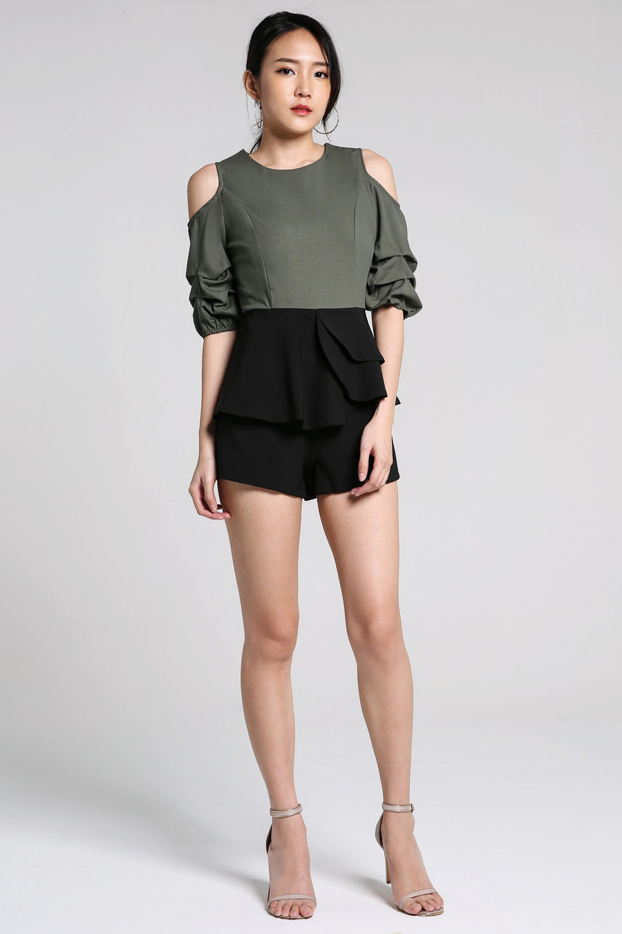 Short Sleeves Playsuit 2217
