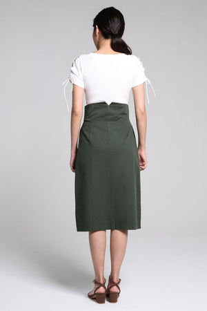 Button Skirt 2196
