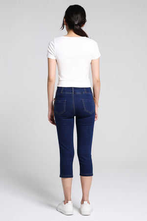Denim Long Pants 2202 - ample-couture