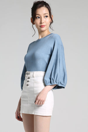 Half Sleeve Plain Top 2263