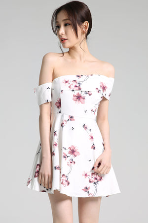 Floral Playsuit 2272 - ample-couture