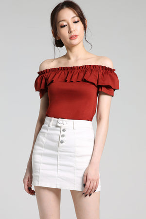 Off Shoulder Top 2280 - ample-couture