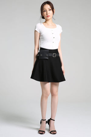 Skirt Pants with Belt Bag 2294