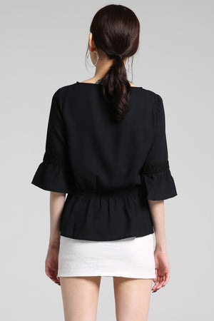 V-Neck Blouse 2299