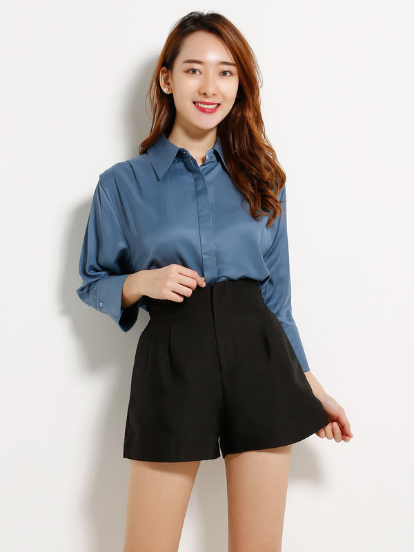 Plain Short Pants 13234