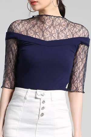 Lace Blouse 2306