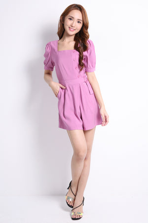 Decorative Button Playsuit 9415