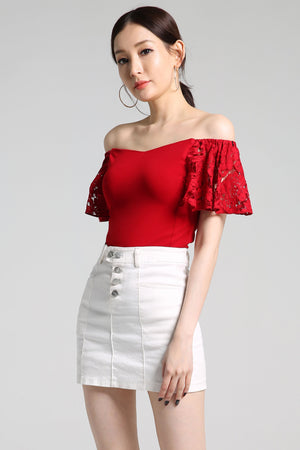 Off Shoulder Top 2308