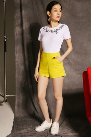Pearl Short Pants 2355 - ample-couture