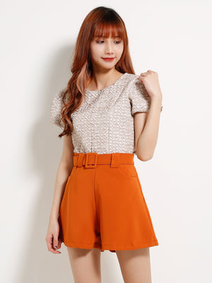 Fish Scales Pattern Top 13280