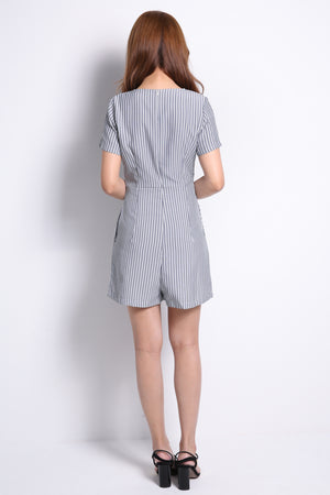 Stripe Playsuit 10115