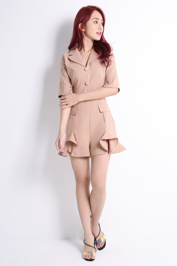 Coat Playsuit 10784