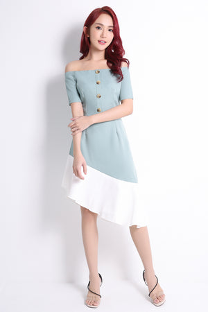 Asymmetric Dress 10748