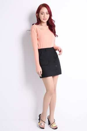 Front Pocket Skirt 10772