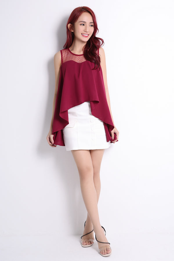 Sleeveless Top 10753