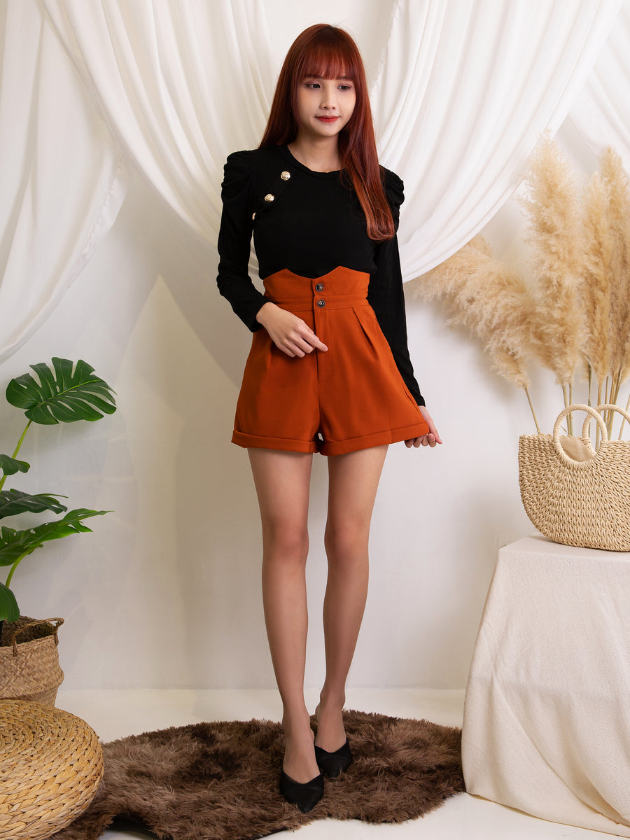 Front Button Knit Skirt 11450