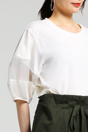 Plain Top 2485 - ample-couture