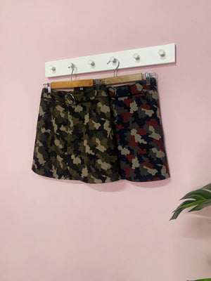 Army Skirt Pant 2503  - ample-couture