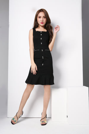 Front Pocket Dress 8743